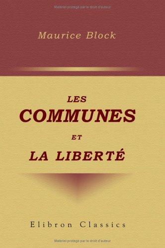 Les communes et la liberté