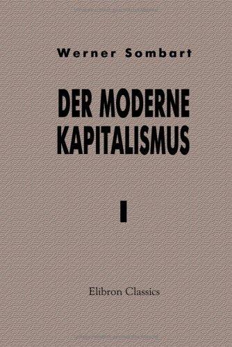 Der moderne Kapitalismus