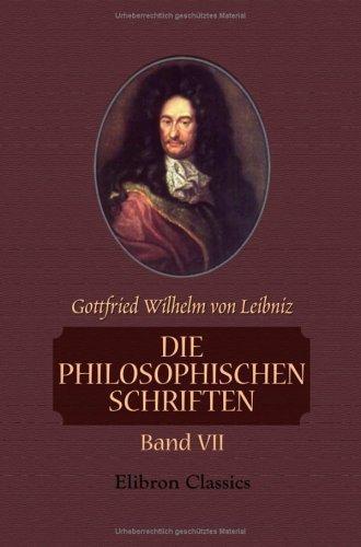 Die philosophischen Schriften