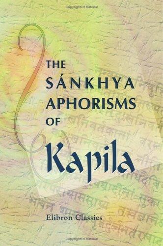 Download The Sánkhya Aphorisms of Kapila