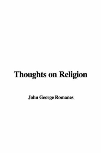 Download Thoughts on Religion