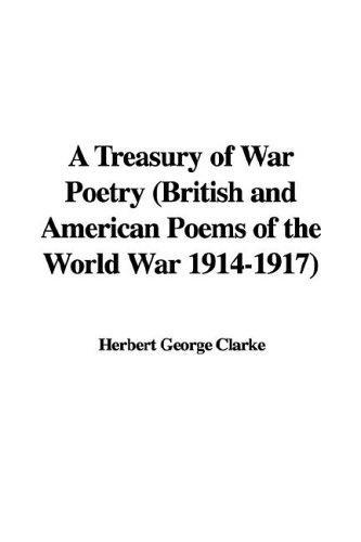 A Treasury of War Poetry
