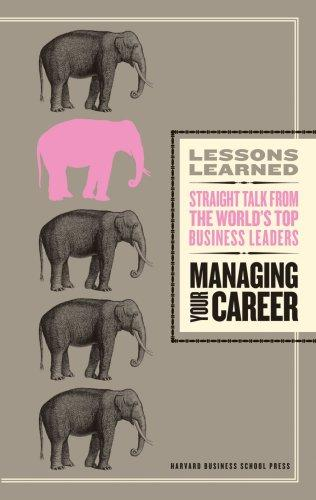 Managing Your Career (Lessons Learned) (Lessons Learned) by Fifty Lessons