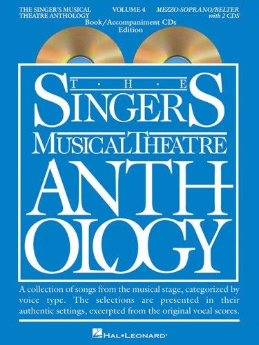 Singer's Musical Theatre Anthology – Volume 4
