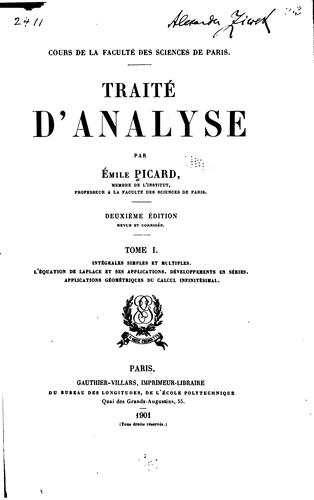 Download Traité d'analyse