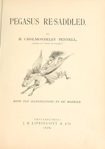 Pegasus re-saddled