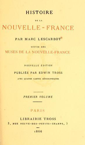 Download Histoire de la Nouvelle-France