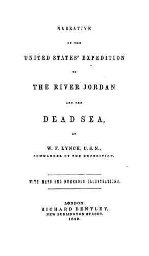 Download Narrative of the United States' expedition to the river Jordan and the Dead Sea
