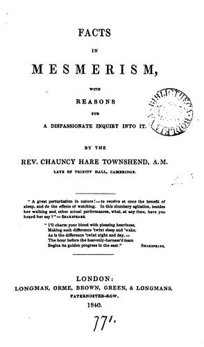 Download Facts in mesmerism