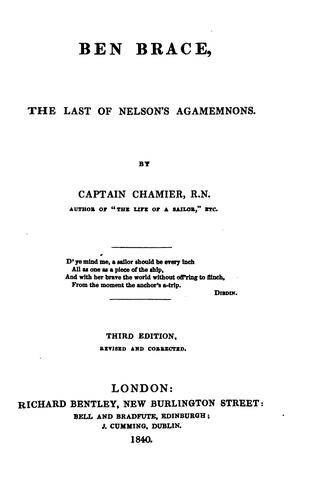 Download Ben Brace, the last of Nelson's Agamemnons