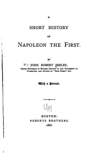 Download A short history of Napoleon the First.