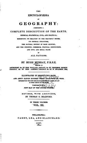 Download The encyclopædia of geography