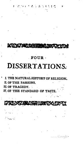 Download Four dissertations