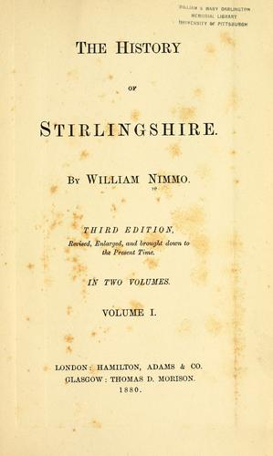 Download The history of Stirlingshire
