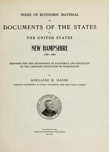 Download Index of economic material in documents of the states of the United States