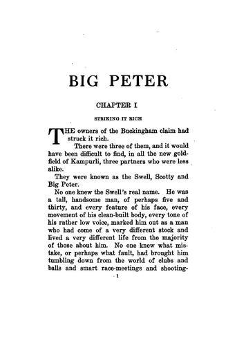 Big Peter.