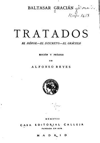 Download Tratados: El héroe. – El discreto. – El oráculo.