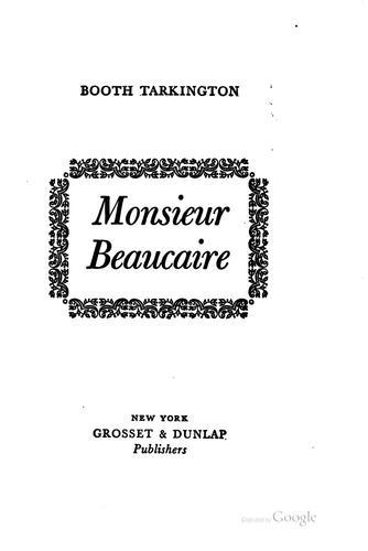 Download Monsieur Beaucaire