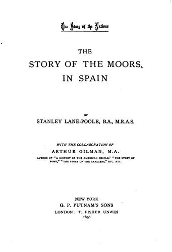 Download The story of the Moors in Spain