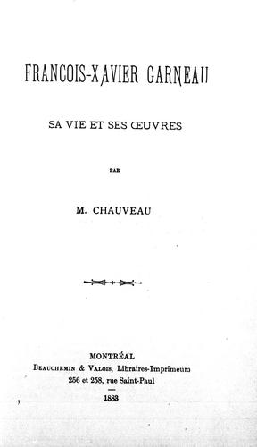 Download François-Xavier Garneau