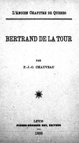Bertrand de la Tour