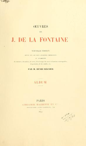 Download OEuvres de J. de La Fontaine.