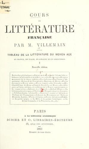 Download Cours de littérature française