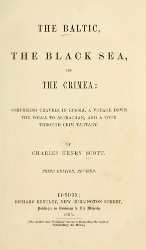 Download The Baltic, the Black Sea, and the Crimea