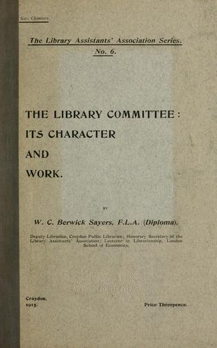 Download The library committee