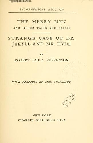 The  merry men, and other tales and fables