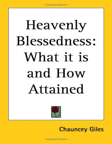 Heavenly Blessedness