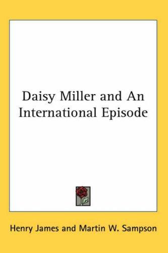 Download Daisy Miller and An International Episode