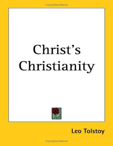 Christ's Christianity