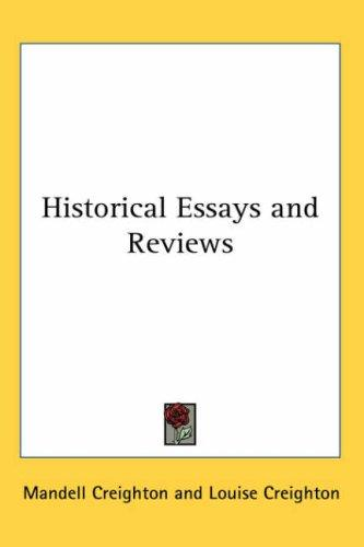 Download Historical Essays and Reviews