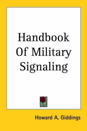 Handbook of Military Signaling