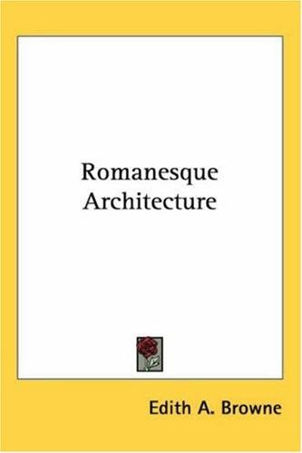 Download Romanesque Architecture
