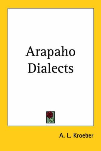 Arapaho Dialects