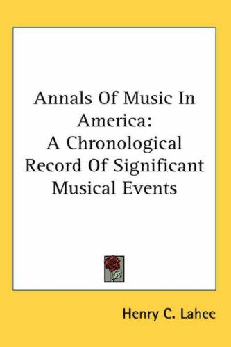 Download Annals of Music in America