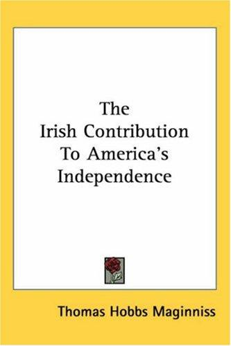 Download The Irish Contribution to America's Independence