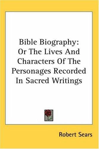 Download Bible Biography