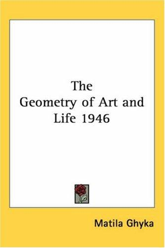 The Geometry of Art and Life 1946