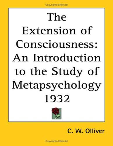 Download The Extension of Consciousness