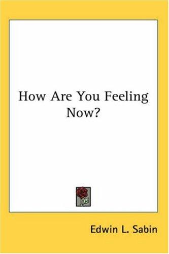 Download How Are You Feeling Now?