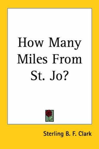 Download How Many Miles from St. Jo?