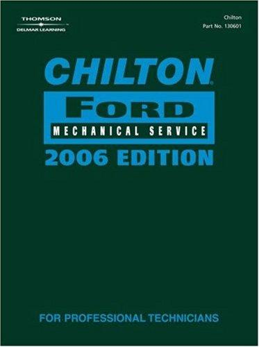Thumbnail of Chilton 2006 Ford Mechanical Service Manual
