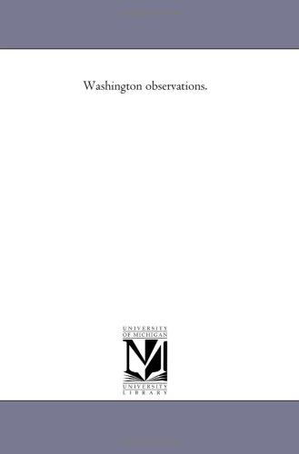 Download Washington observations.