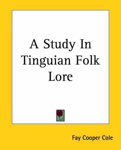 Download A Study In Tinguian Folk Lore