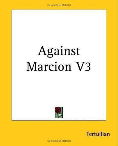 Download Against Marcion