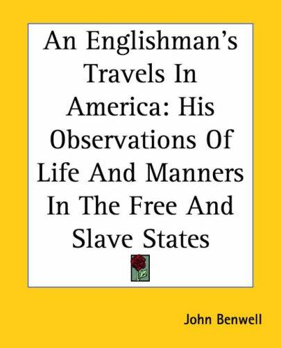 Download An Englishman's Travels In America