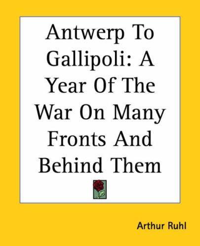 Download Antwerp To Gallipoli